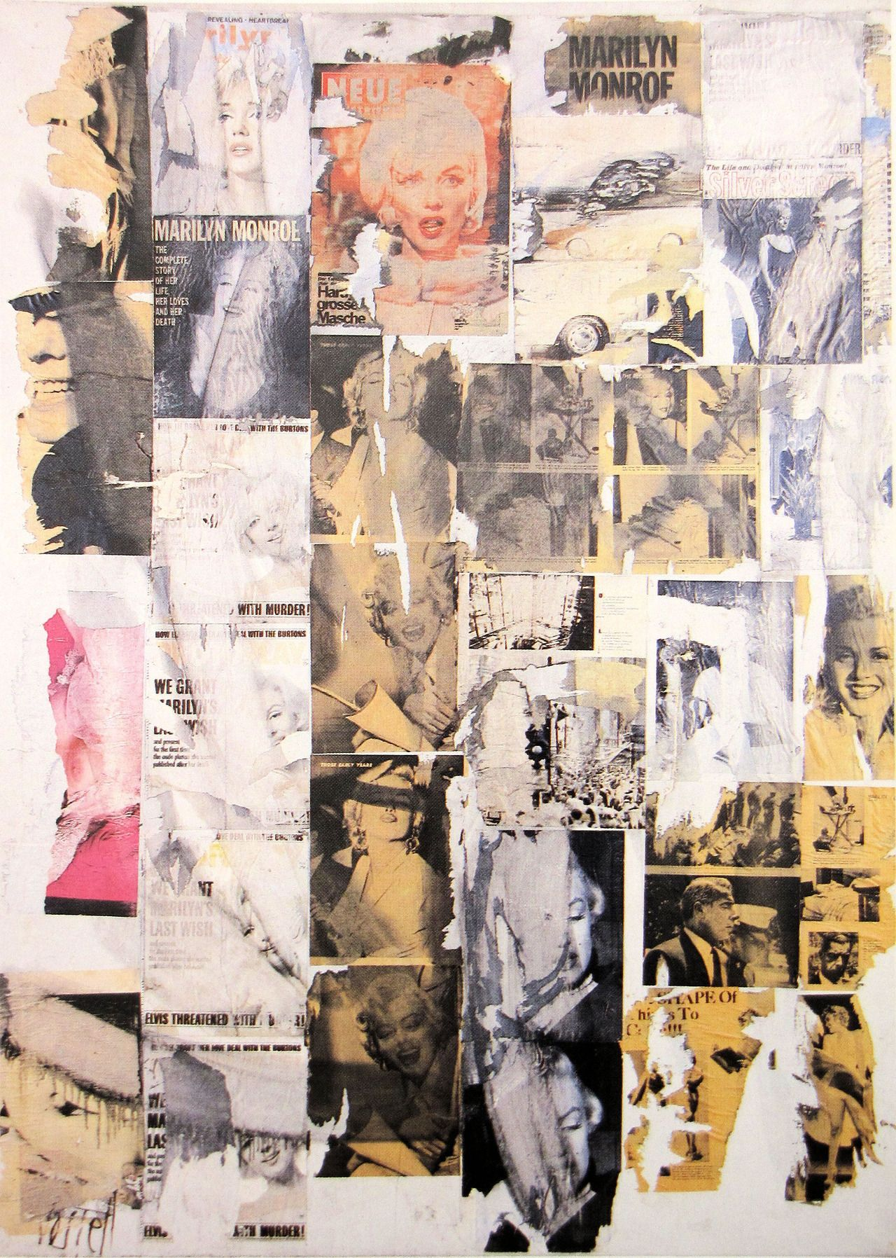 Wolf Vostell Tumblr Conceptual Art Collage Art Artist Art