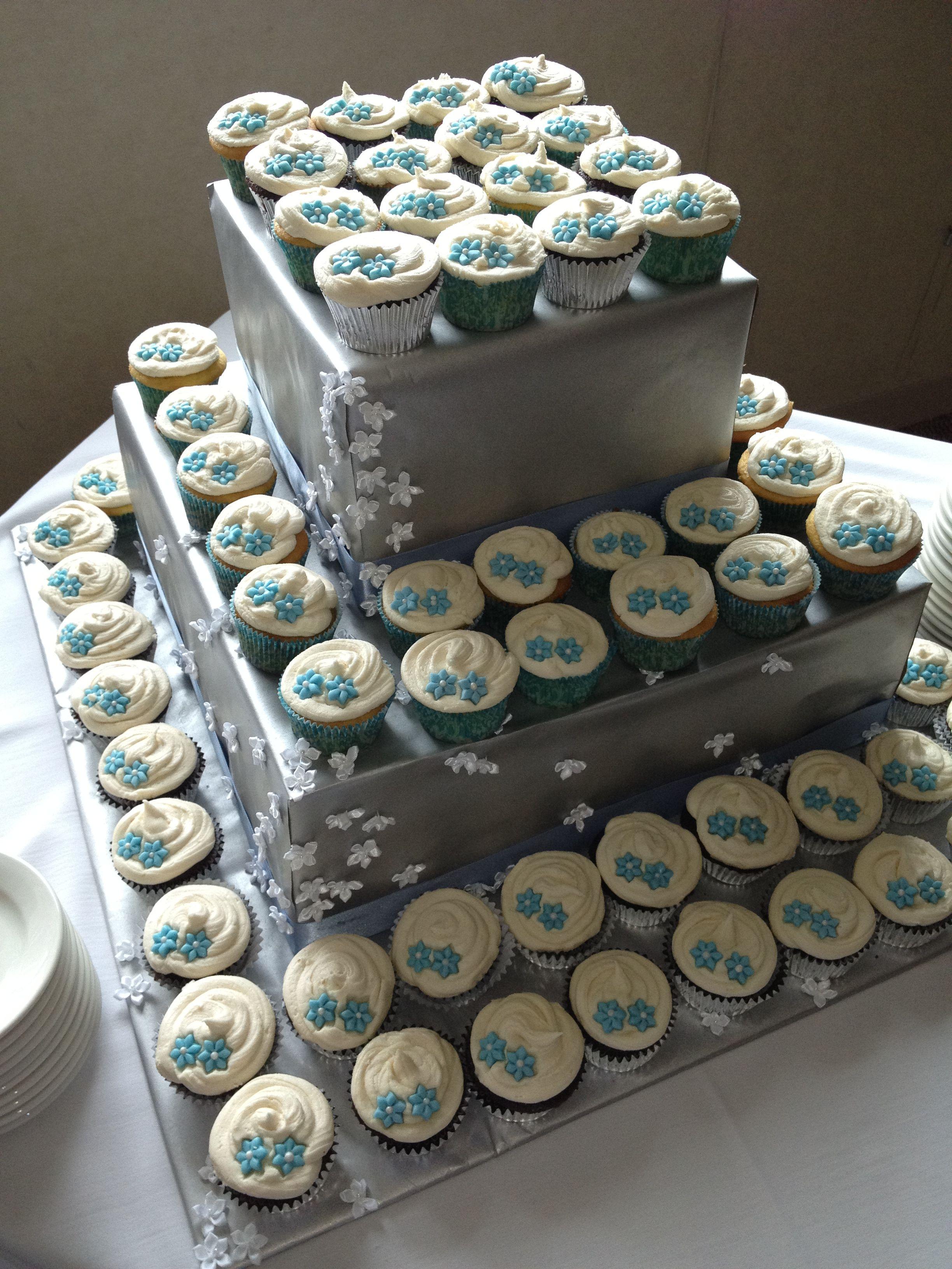 Wedding Cupcake Tower Jusalpha Large 7 Tier Acrylic Round