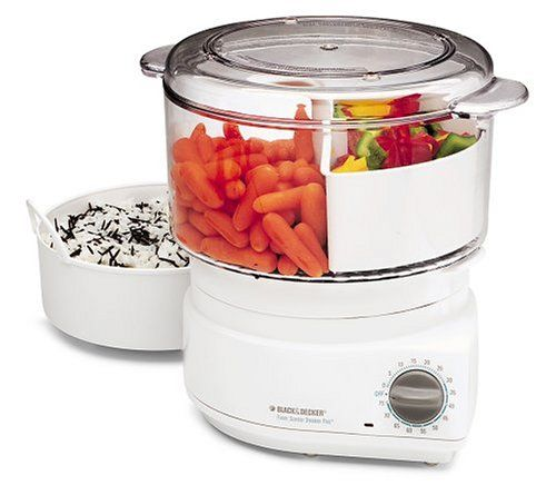 Kitchen Living Food Steamer: Black And Decker HS900 Flavor Steamer Rice Cooker Plus
