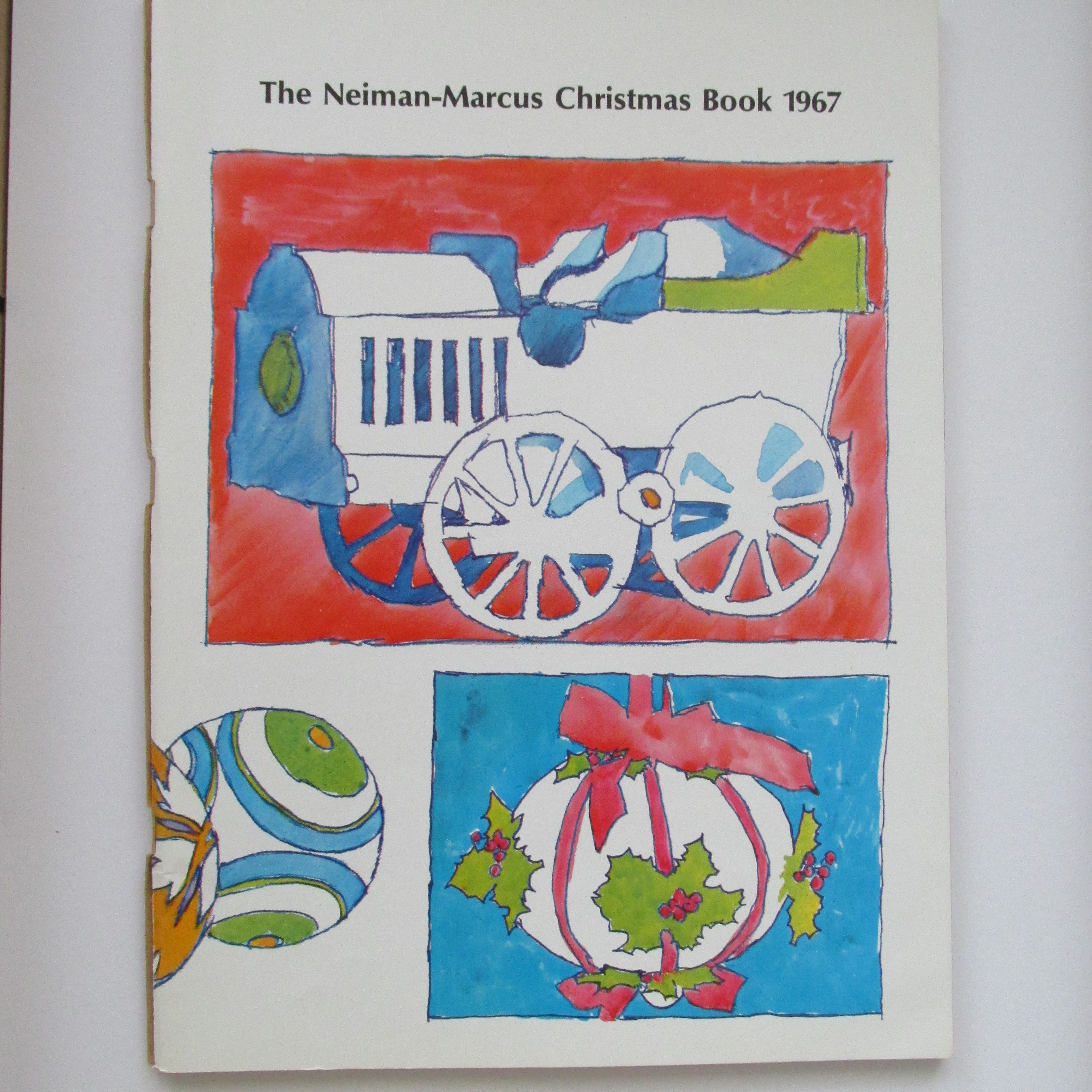 Neiman Marcus Christmas Book.Neiman Marcus Christmas Book 1967 Meet The Press Neiman
