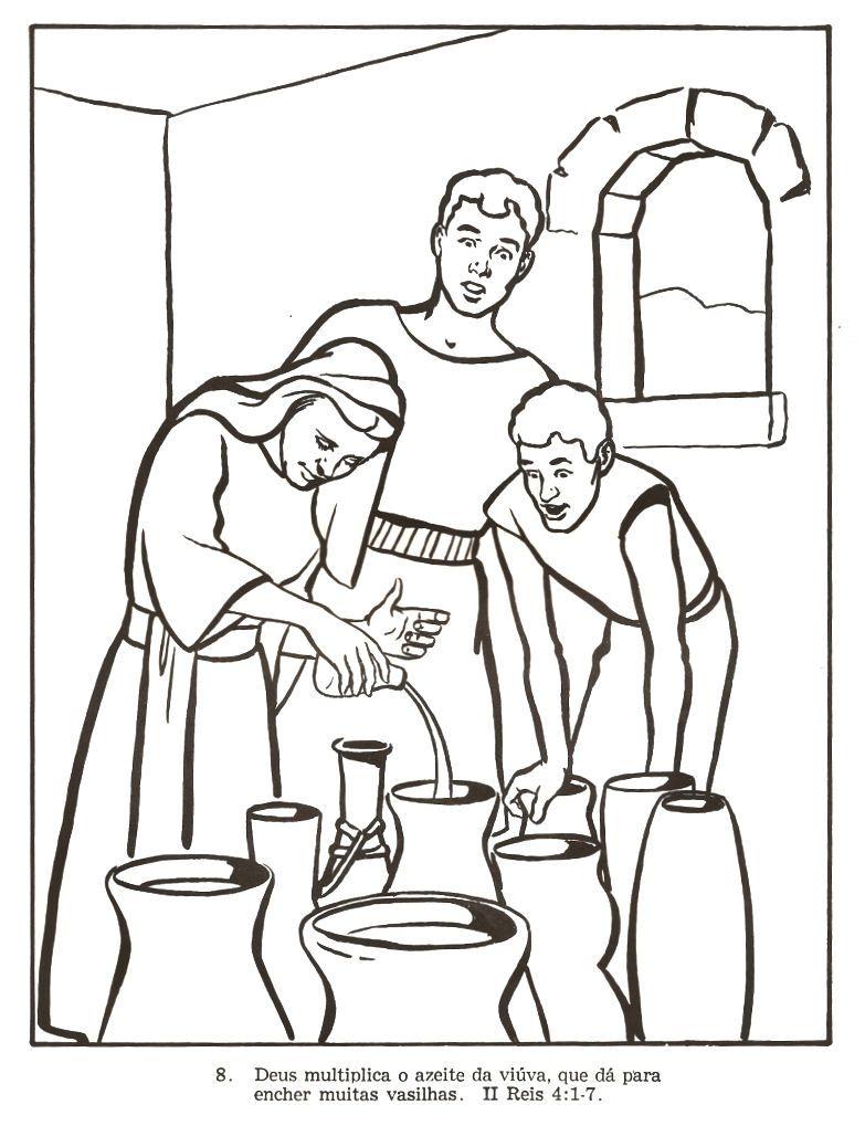 Desenhos para colorir e pintar: Desenhos Bíblicos Antigo