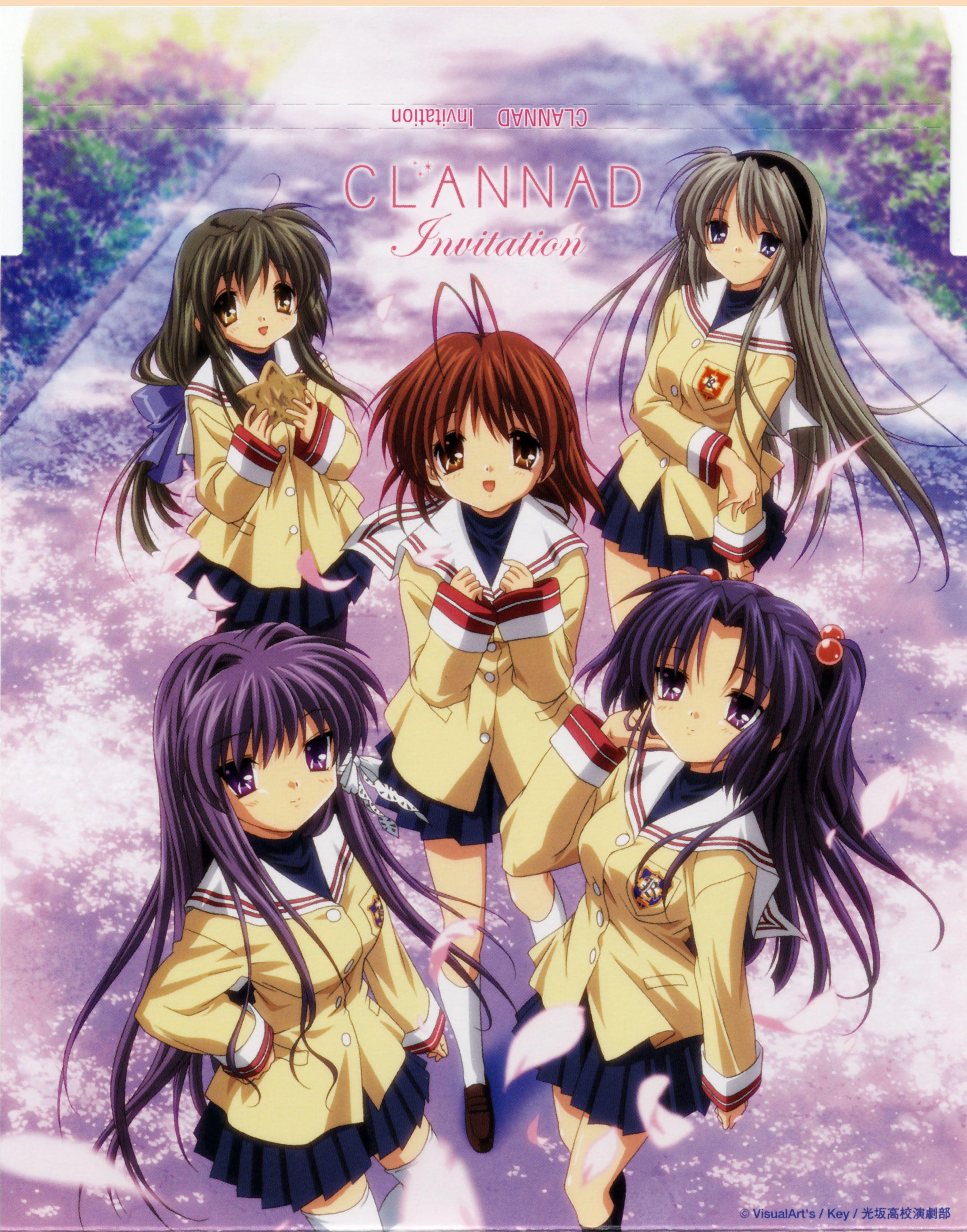 CLANNAD Invitation DVD Clannad anime, Clannad, Anime dvd