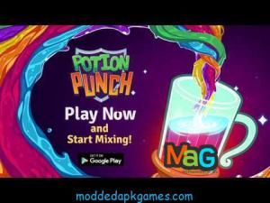 Potion Punch Mod Apk v5 0 2 Unlimited Money Hack Download