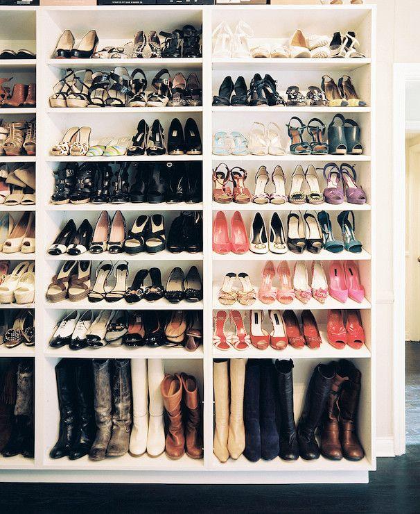 Lonny Magazine   Closets   Shelves For Shoes, Shoe Shelves, Shelves For  Boots,