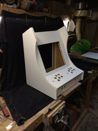 2-Player Bartop Arcade Machine (Powered by Pi) in 2020 ...