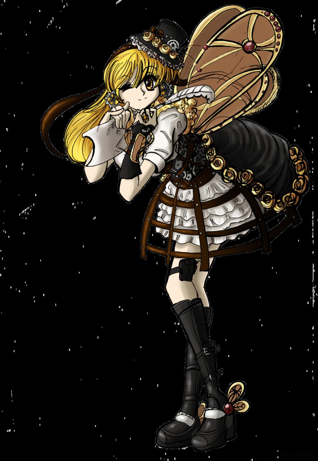 Steampunk Girl by OmniLRenegadE on DeviantArt RAMDOM