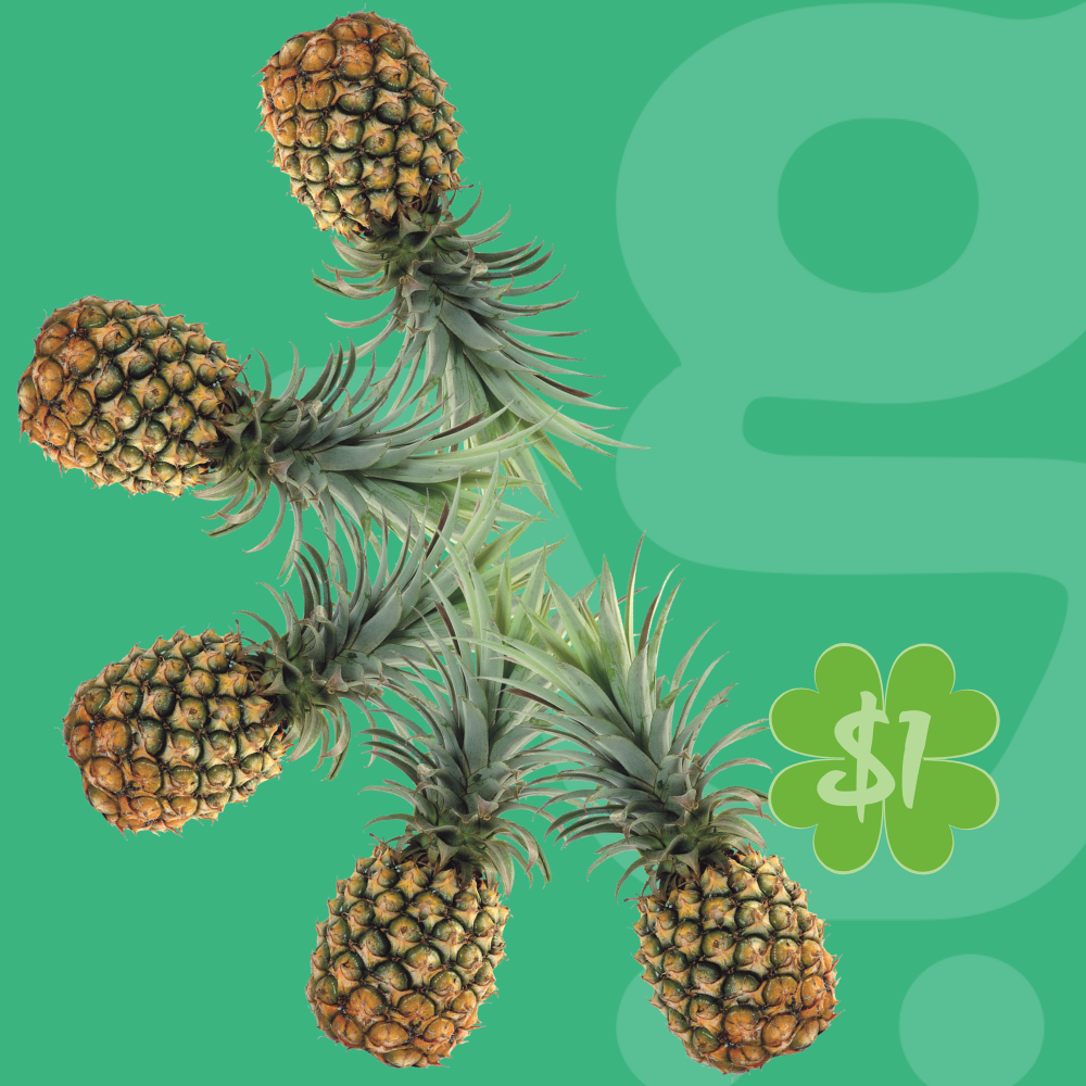 Are you a gym rat? 🏋🏽 The anti-inflammatory bromelain in pineapple helps speed muscle recovery.  𝘞𝘦𝘦𝘬𝘭𝘺 𝘚𝘱𝘦𝘤𝘪𝘢𝘭 : $1 pineapples! #luckymarch  #plasticfreedelivery #plasticfree #sustainable #groceriesdelivered #grocerydelivery #grocerdel #phnompenh #cambodia #cambodge #grocerystore #grocerystores #salephnompenh #dealsphnompenh #phnompenhweekends #promotion #promo #deal #greatdeals #sale #salephnompenh #dealsphnompenh  #phnompenhcity #phnompenhcambodia