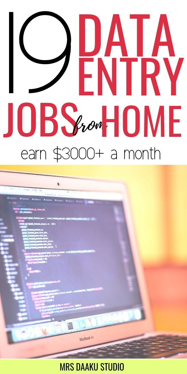 Data Entry Jobs from Home - Are you looking for a high-paying work from home job or freelancing gigs? If you are, these 19 data entry jobs from home are perfect to make money online from hom #dataentry #dataentryjobs #dataentryjobsfromhome #workfromhome #workfromhomejobs #workathome #makemoneyonline #jobsfromhomeforbeginners #howtomakemoneyfromhome #onlinejobs