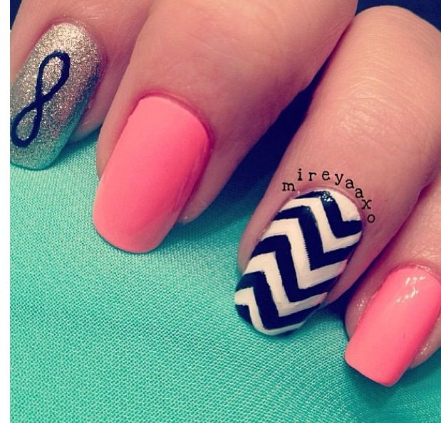 Peach Color nails - Peach Color Nails <3 Pinterest Nails, Cute Nails And Cute Nail Art