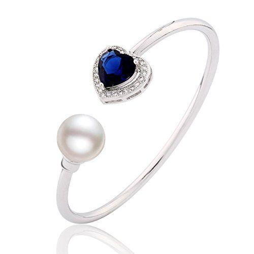 Or 18k Sur Argent Coeurs Ouverts Link Bracelet