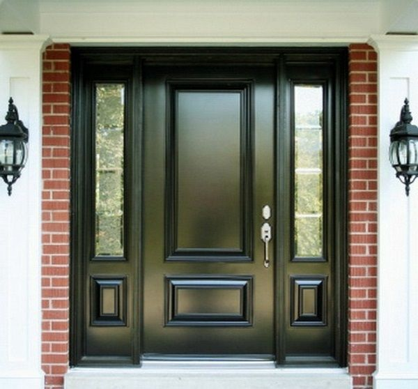 Quality Home Exteriors: Modern House Doors Black Color