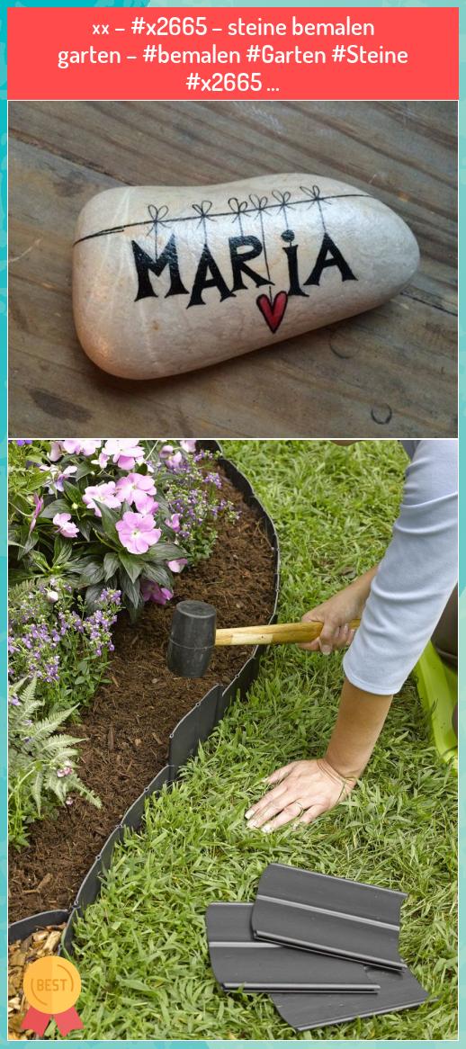 ♬ – #x2665 – steine bemalen garten – #bemalen #Garten #Steine #x2665 … - My Blog