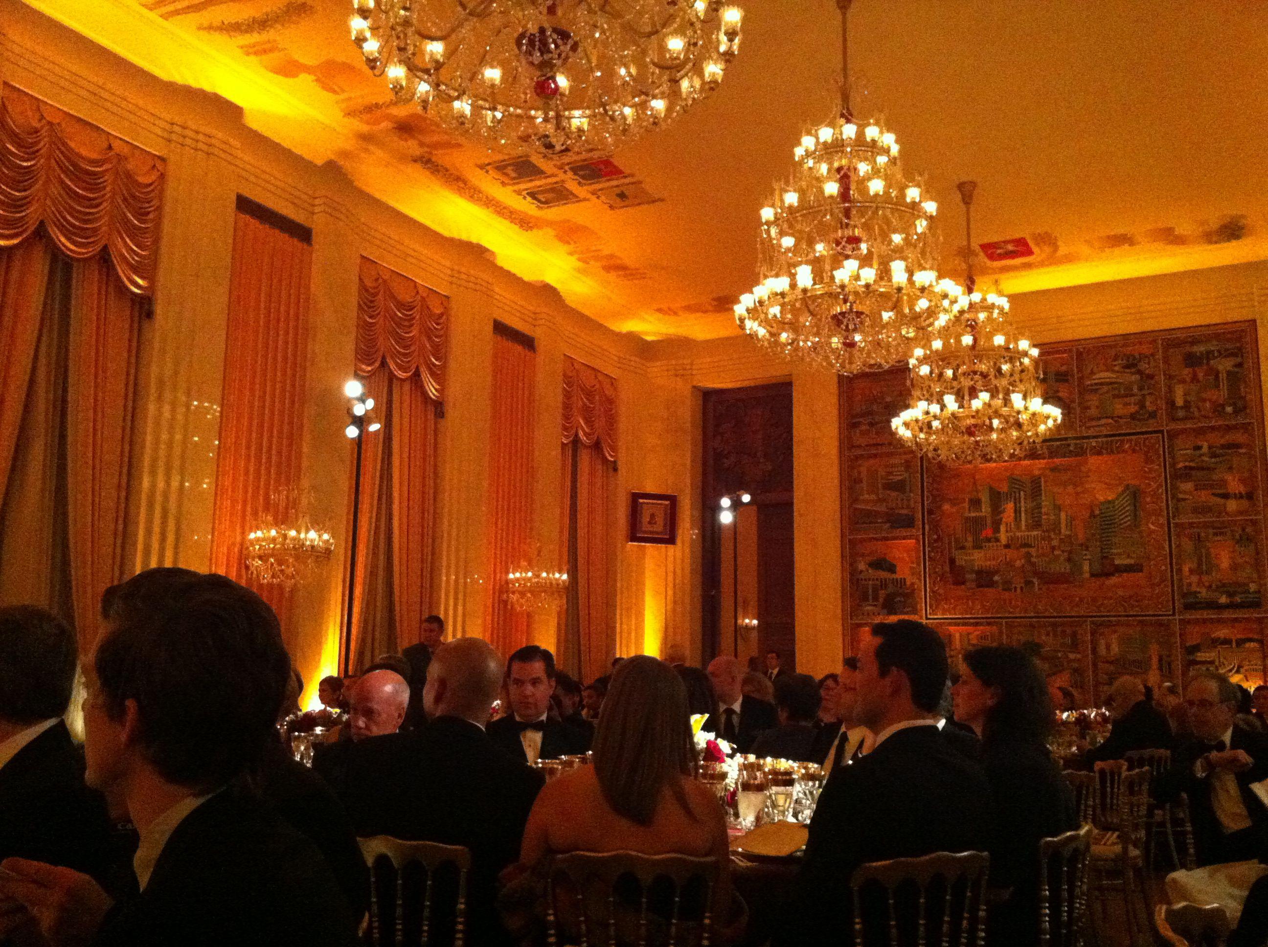 Russian Embassy dinner