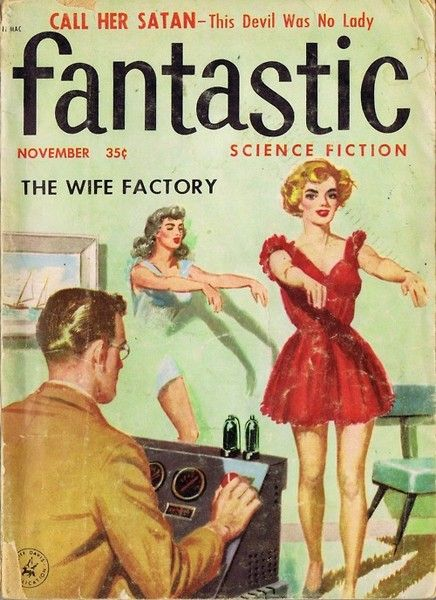 That explains it ... there's a Wife Factory.