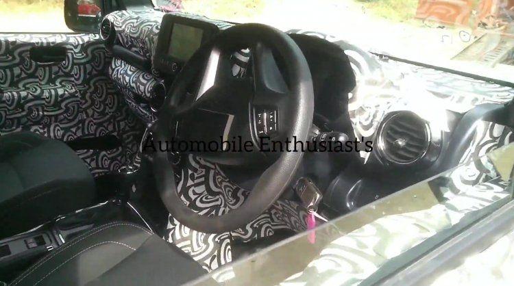 2020 Mahindra Thar Interior Spied Again Cruise Control Confirmed Video In 2020 Mahindra Thar Cruise Control Cruise