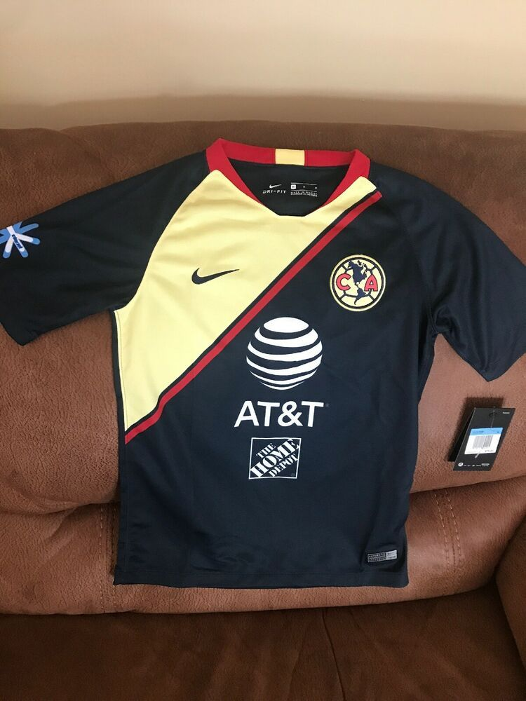ae0be1d1431 Details about Nike Club America 2018 Mexico Soccer Jersey NWT Size M ...