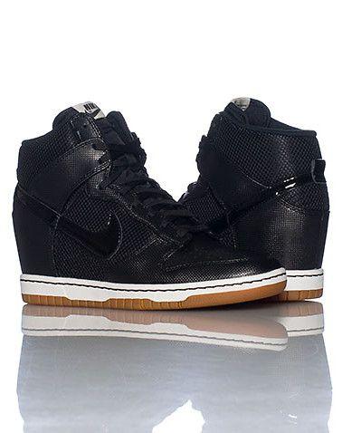black nike sneaker wedges   Nike shoes