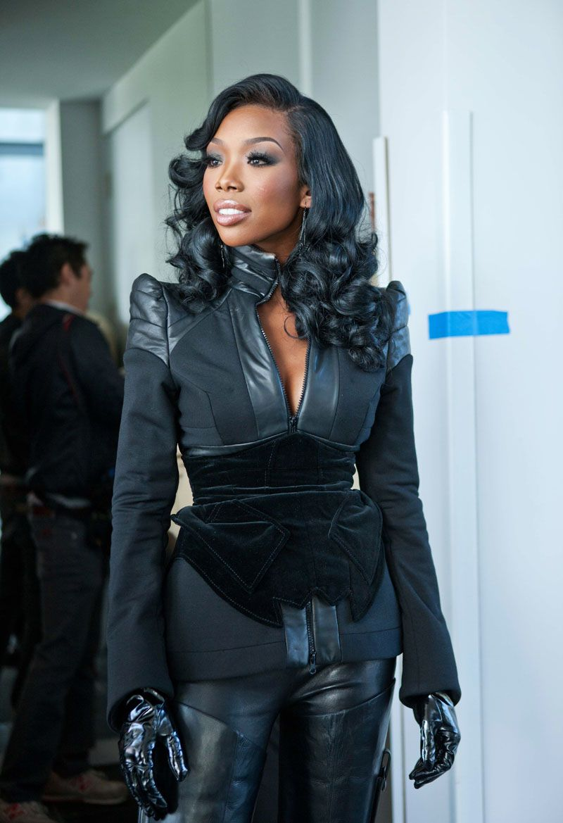I Ve Always Looked To Brandy For Hair Makeup Amp Fashion