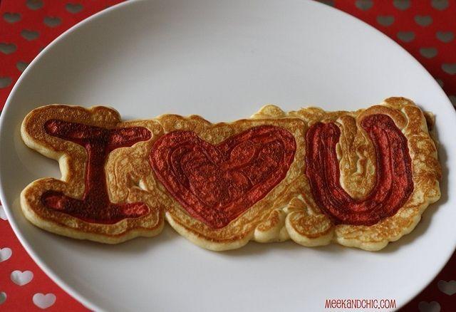 5 Frugal Valentine's Day Treats | Money Saving Mom® -  I Love You Pancakes! Fun breakfast for Valentine's Day!  - #Day #Frugal #mom #money #Saving #Treats #valentines #Valentinesaesthetic #Valentinesart #Valentinesdate #Valentinesdesign #Valentinesdesserts #Valentinesfood #Valentinesfunny #Valentinesilustration #Valentinesnails #Valentinespictures #Valentinesposter #Valentinessayings #Valentinestreats #Valentineswallpaper #vintageValentines