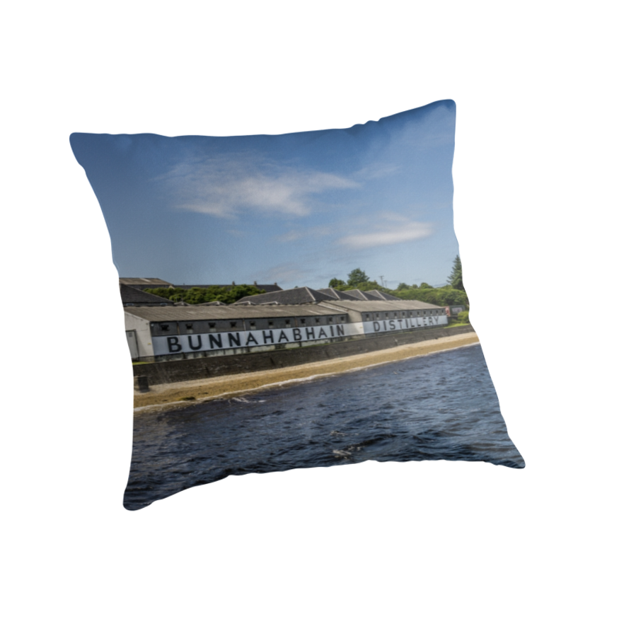 Bunnahabhain Distillery Storehouse' Throw Pillow By Humblebeeabroad Mesmerizing Storehouse Decorative Pillows