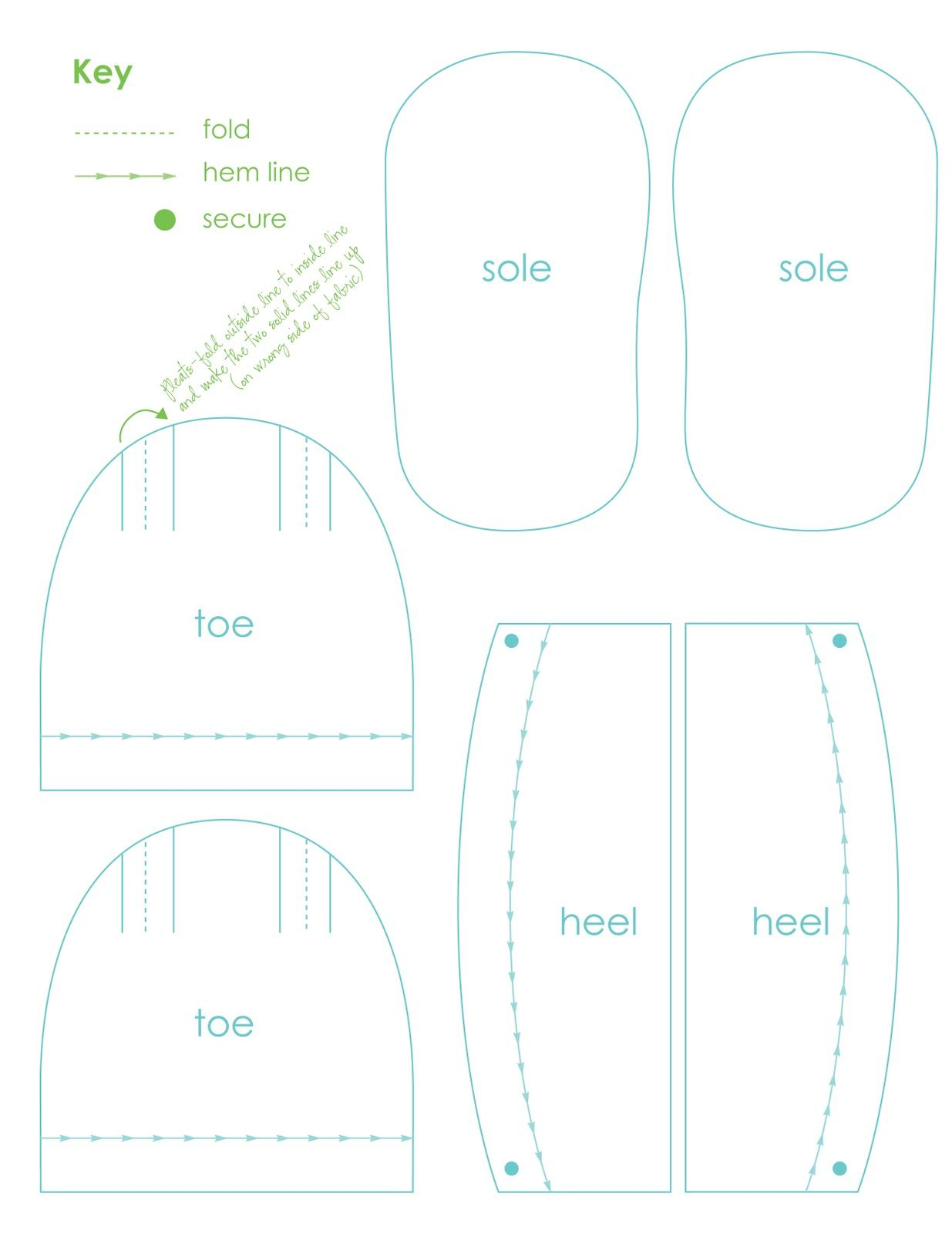 Free Paper Shoe Template | organized occurrences ...