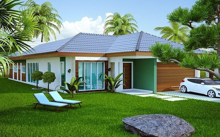 Modelos de fachadas de casas modernas de un piso casa for Modelos de casas de campo modernas