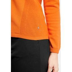 Photo of Pullover mit Struktur-Mix Orange Gerry WeberGerry Weber