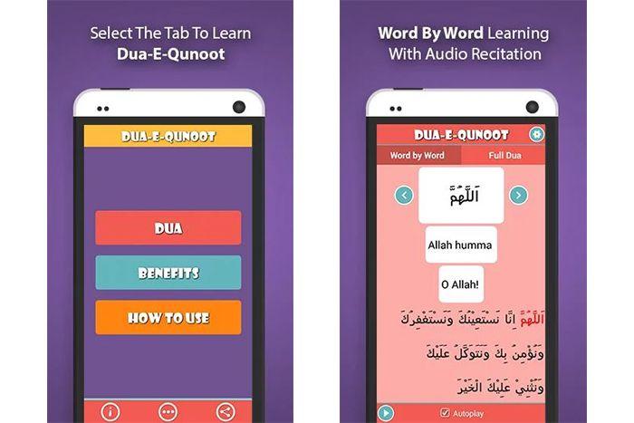 Learn Dua e Qunoot – Word by Word Dua App   Islamic and Arabic