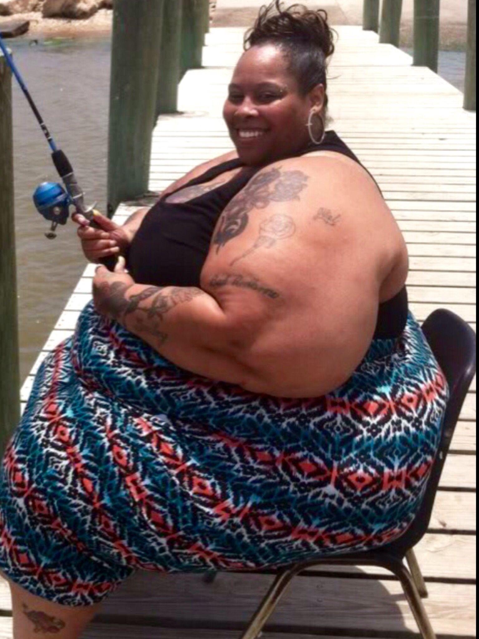 como se ve una mujer de 300 lb