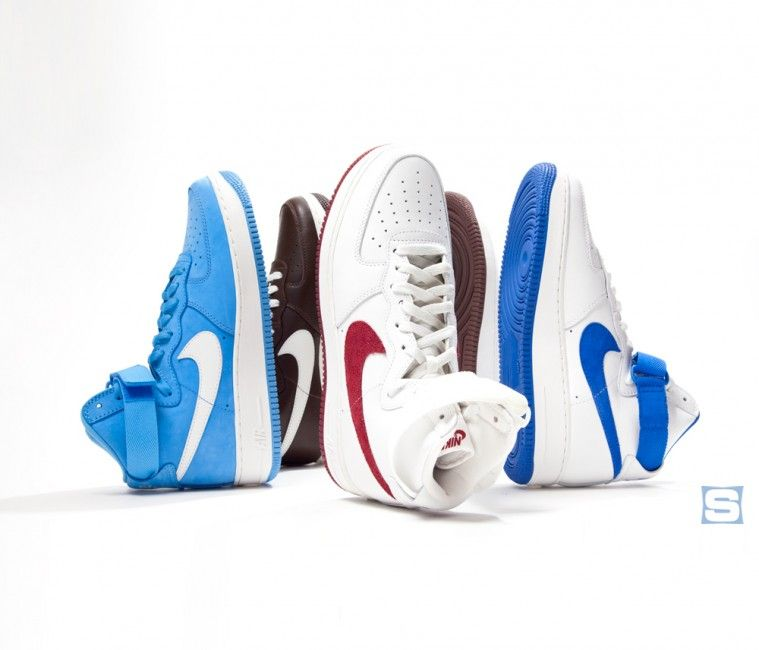 buy popular 00799 fc088 Nike Air Force 1 High OG-Color of the Month Pack