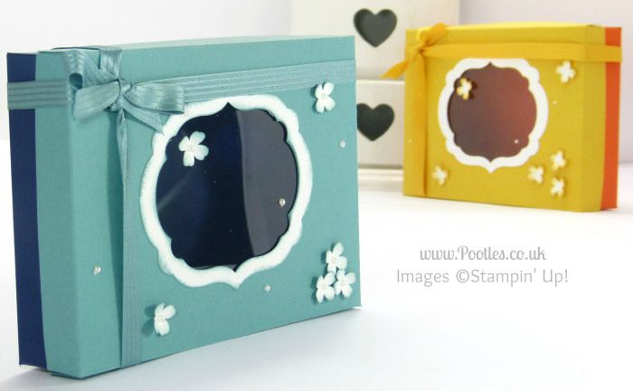 Thank You Card Box & Lid Tutorial