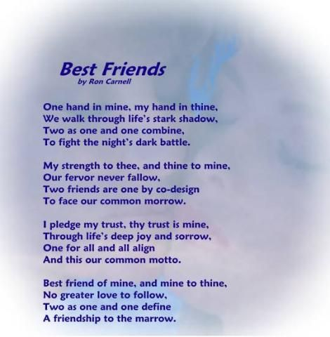 poems about friendship - Google Search | Quotes about Friendship ...