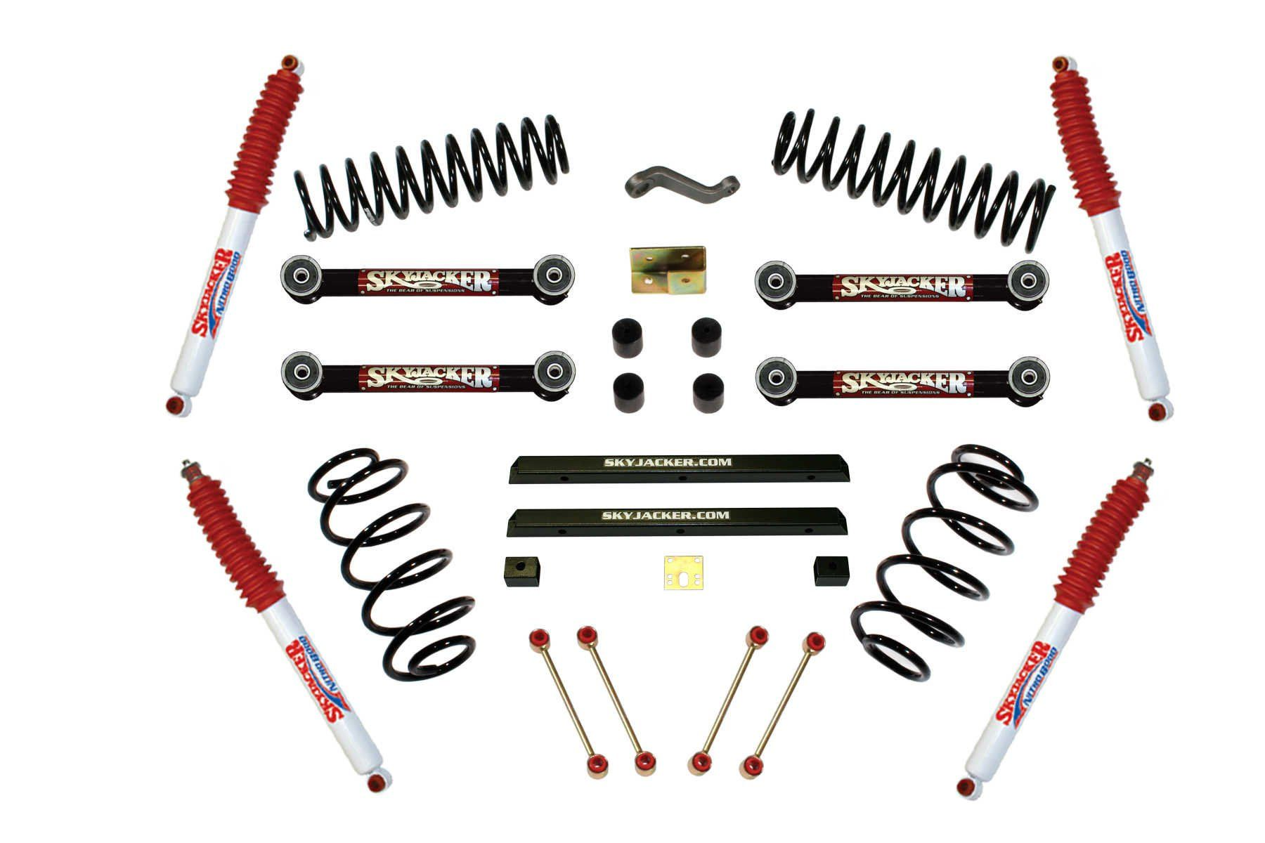 Skyjacker 4 inch Economy Lift Kit for 9706 Wrangler TJ