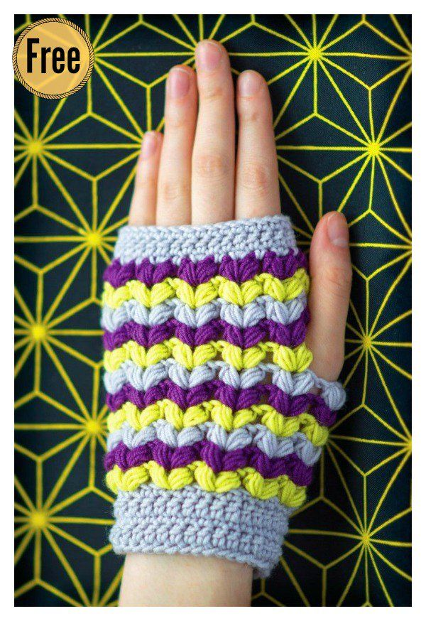 Beautiful Puff Stitch Patterns I Can\'t Wait to Try | Pinterest ...