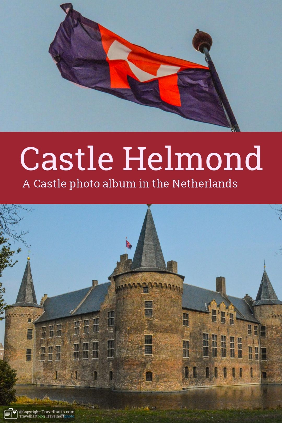 Castle Helmond In The Middle Of A City The Netherlands