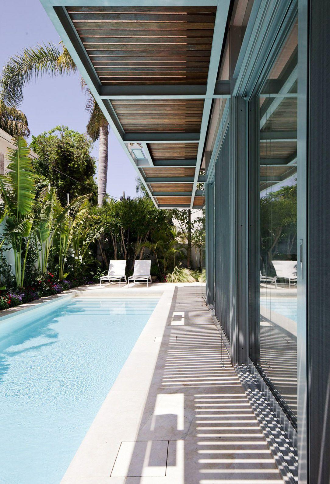 Life At Home Backyard Pool Landscaping Small Backyard Pools Modern Pools
