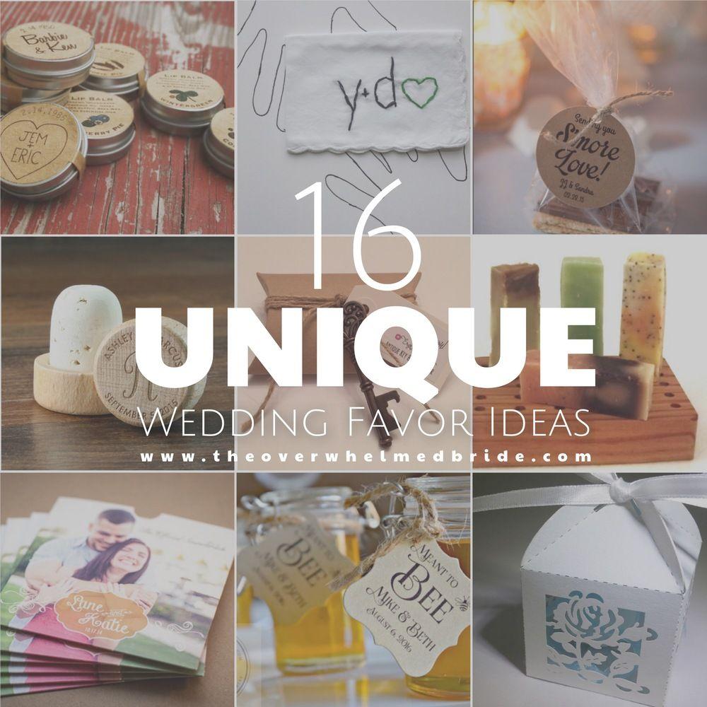 unusual wedding photos ideas%0A Super Unique Wedding Favor Ideas