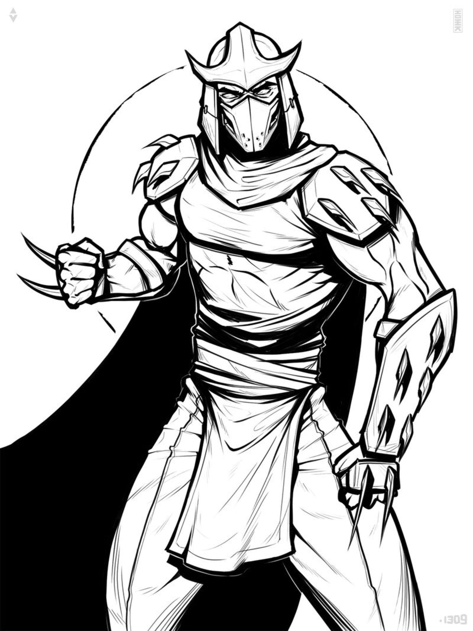 1309 | Shredder! by Nozhk on @DeviantArt | COMICS | Pinterest ...