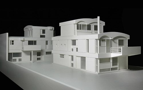 maisons jaoul paris 1 33 le corbusier vitra design stiftung photo zaborowsky modellbau. Black Bedroom Furniture Sets. Home Design Ideas