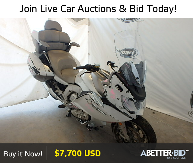 Salvage 2014 BMW MOTORCYCLE For Sale