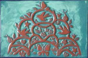 Large Decorative Tiles Large Tree Of Life Ceramic Decorative Tile  Kitchen Ideas