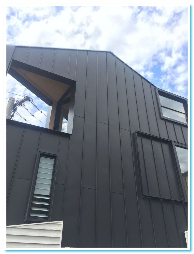 32 Reference Of Standing Seam Metal Roof Panels Design In 2020 Standing Seam Metal Cladding Facade House