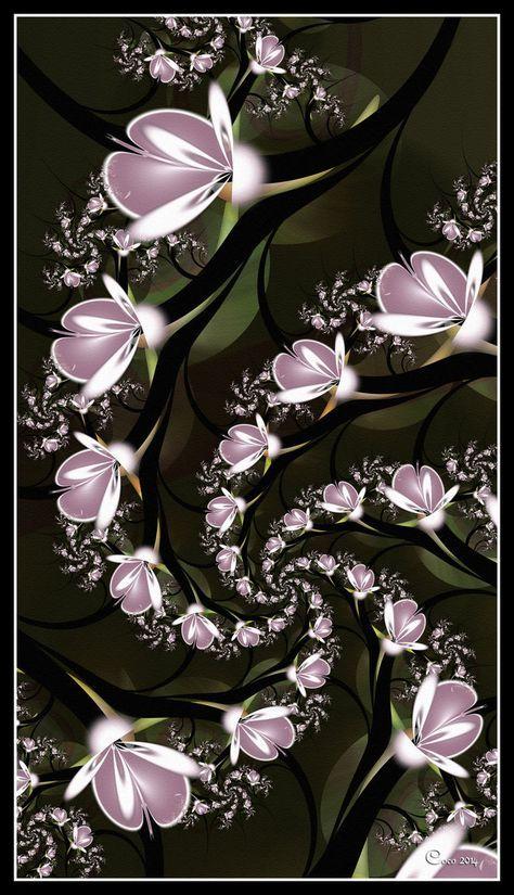 Spiralling Magnolias by kayandjay100 on DeviantArt