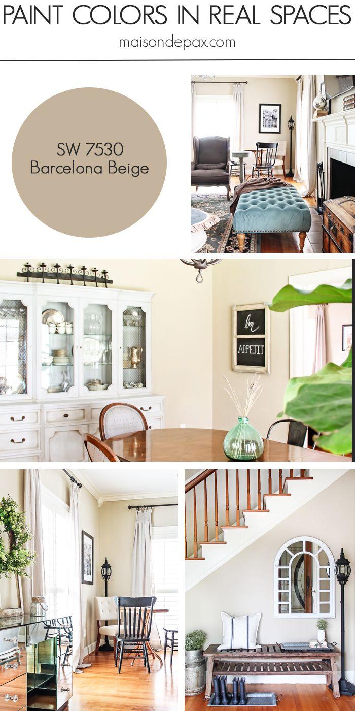 Paint Color Home Tour: Nature-Inspired Neutrals | Pinterest | Nature ...