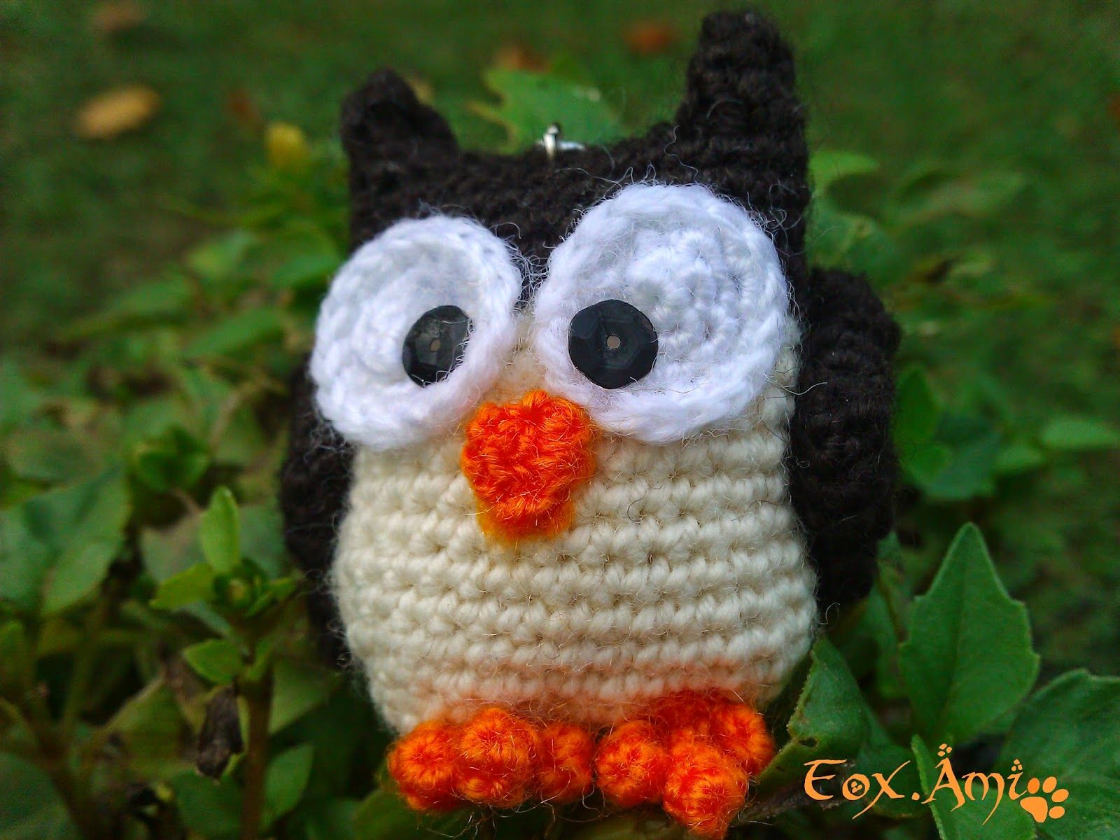 Amigurumi Owl Free Pattern!! | crochet | Pinterest | Apliques