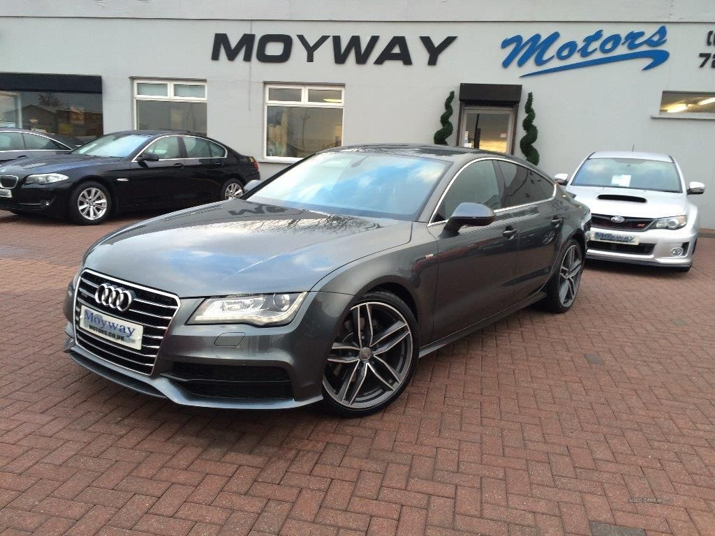 Used Audi A S LINE QUATTRO TDI AUTO DAYTONA GREY For Sale - Audi car used for sale