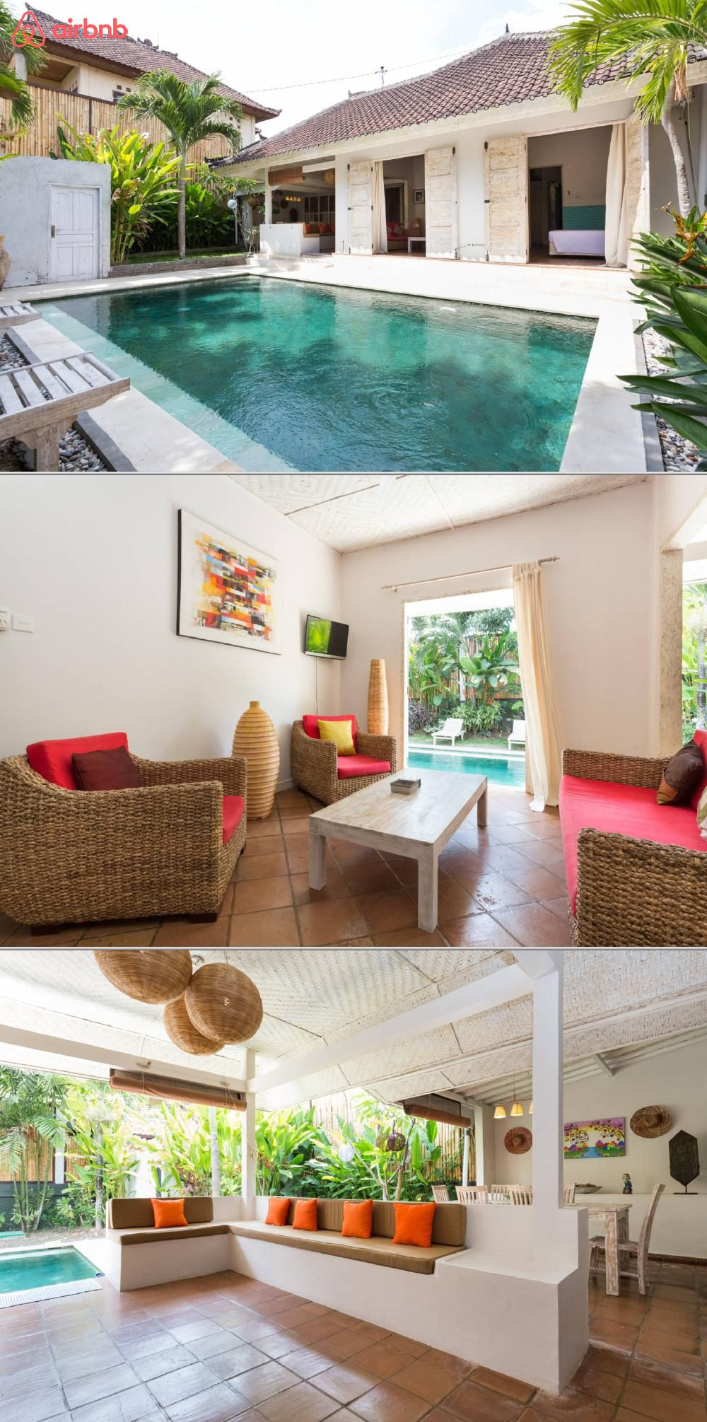Rumah Pascalex Villas For Rent In Kuta Utara Bright Homes House Home