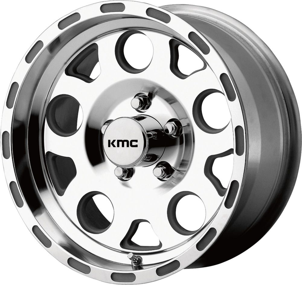 16 kmc km522 enduro 16x8 machined 6x55 truck wheel 0mm