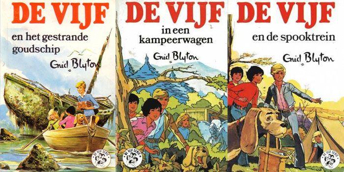 'De vijf' van Enid Blyton verfilmd. wie kent ze nog?