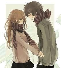 Resultado de imagen para parejas de anime